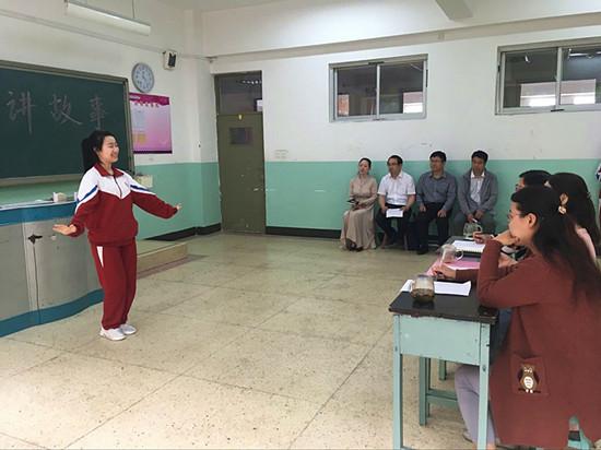 河北女子职业技术学院赴保定女子职业中专学校巡视3+2中高职转段考试