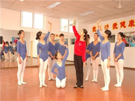 石家庄棉四幼师舞蹈课堂
